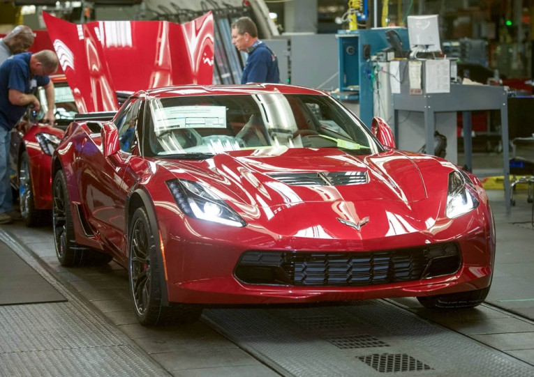 GM to invest $439M in Corvette plant