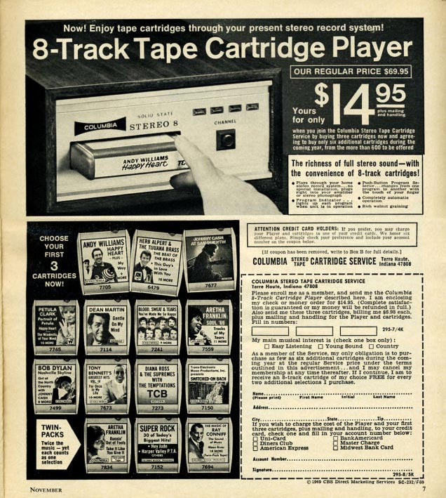 Eight-Track-Tape
