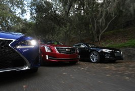 2015 Lexus RC350 F Sport, 2015 Cadillac ATS Coupe 3.6, and 2015 Audi S5