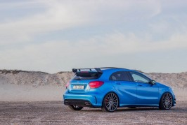 Mercedes A45 AMG with Vossen Wheels
