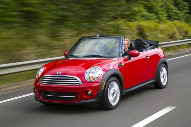 2014-mini-cooper-convertible-front-three-quarters-in-motion