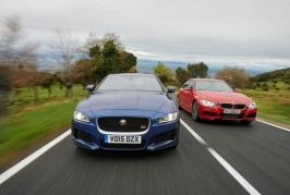BMW 335i M Sport vs. jaguar XE S
