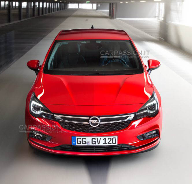 2016 Opel Astra Leaked Photo