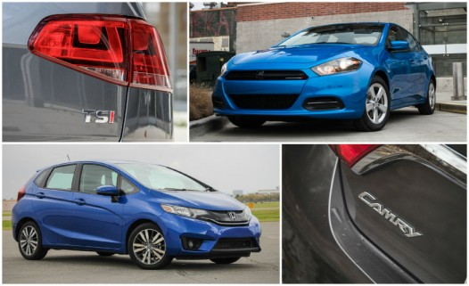 The 10 Quickest Cars for 2015 Under $25,000