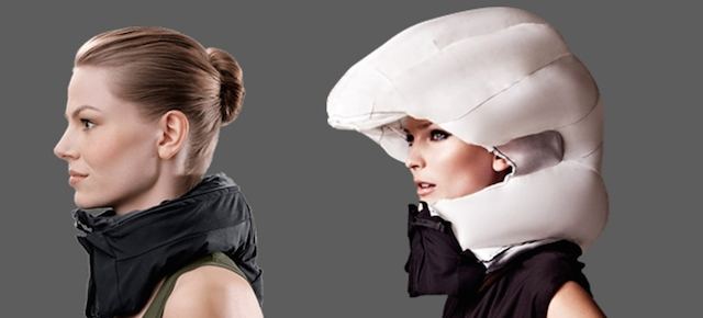 Cyclist Neck Airbag