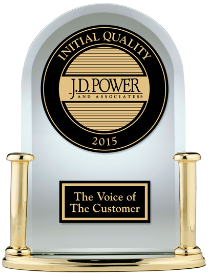J.D. Power 2015 Initial Quality Study