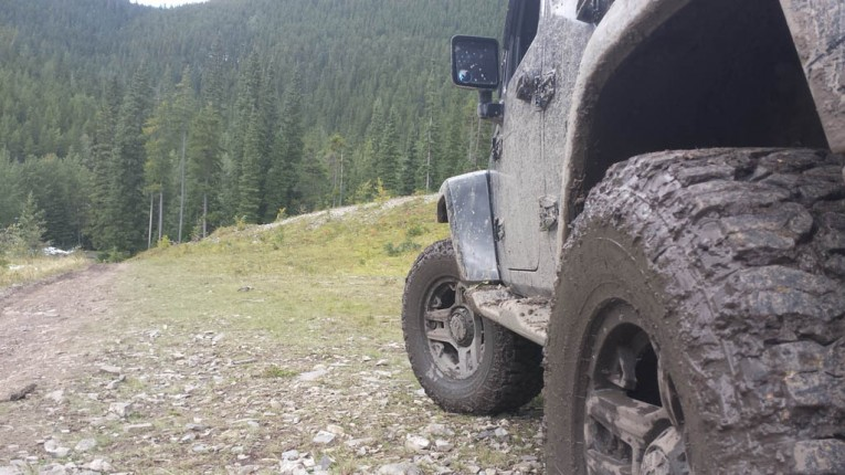 Jeep 4WD system