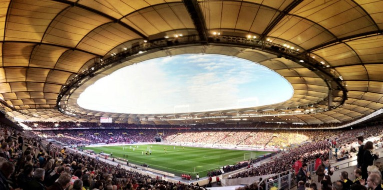Mercedes-Benz Arena Stadium