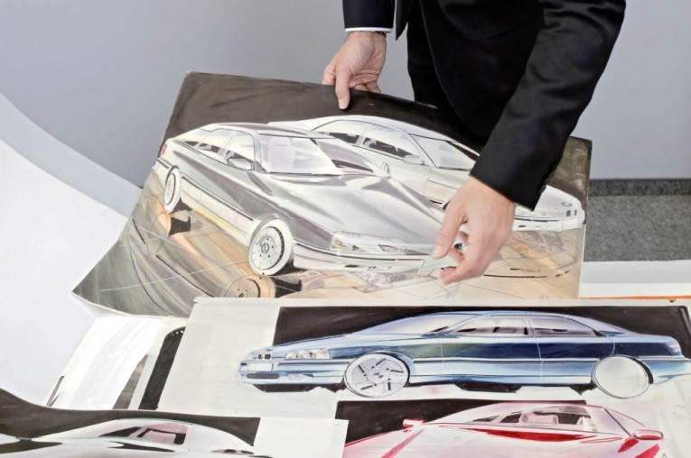 A Look Inside the BMW Design Archives