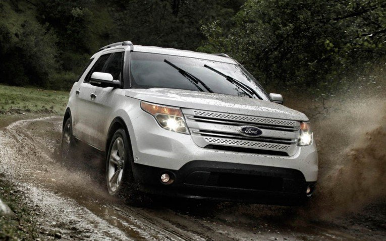 Ford Explorer 4WD system
