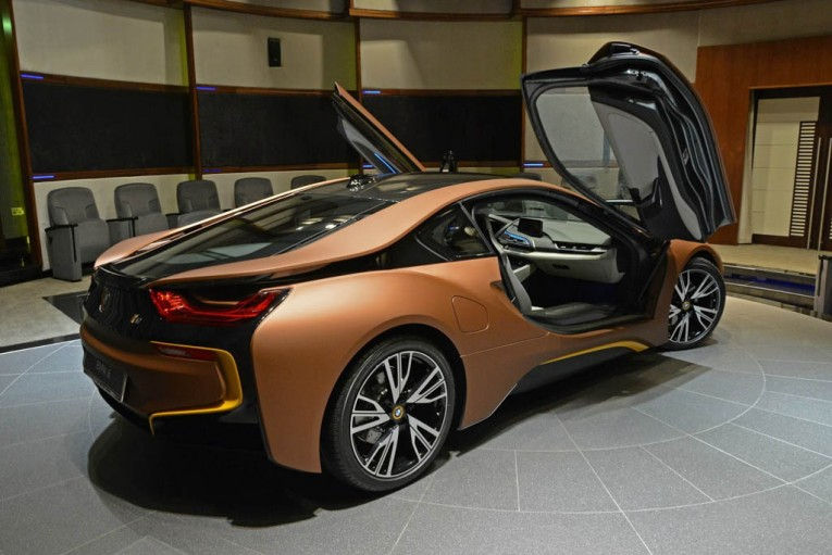 BMW Individual i8 Brown