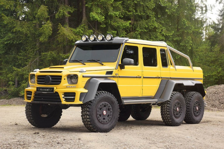 Mansory Mercedes-Benz AMG 6x6 Gronos