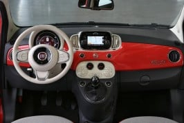 Fiat 500 facelift Interior