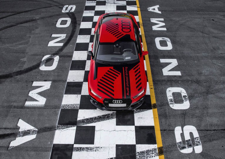Self-Driving Audi RS7 Robby Concept
