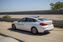 BMW 5 Series GT hydrogen fuel cell