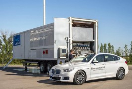 BMW hydrogen fuel cell