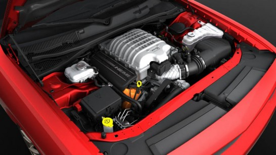 Dodge Supercharged 6.2-liter V-8