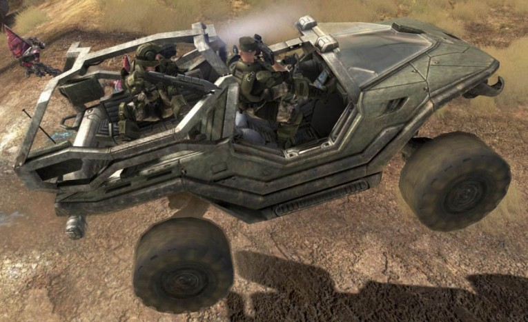 "M12 Force Application Vehicle ""Warthog"" from Halo"