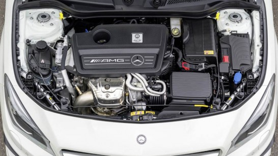 Mercedes-Benz Turbocharged 2.0-liter Inline-4