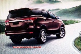 New 2016 Toyota Fortuner SUV