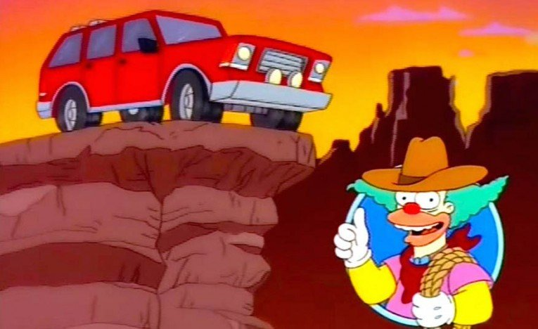 The Canyonero from The Simpsons