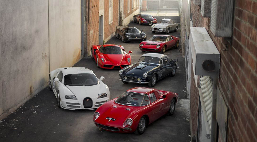 The $65 Million Car Collection