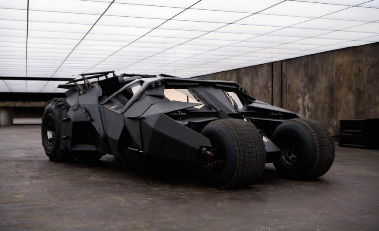 The Tumbler from Batman Begins