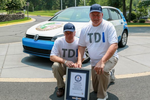 VW-Golf-TDI-economy-record