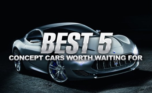 The Best 5 Concept Cars Worth Waiting For