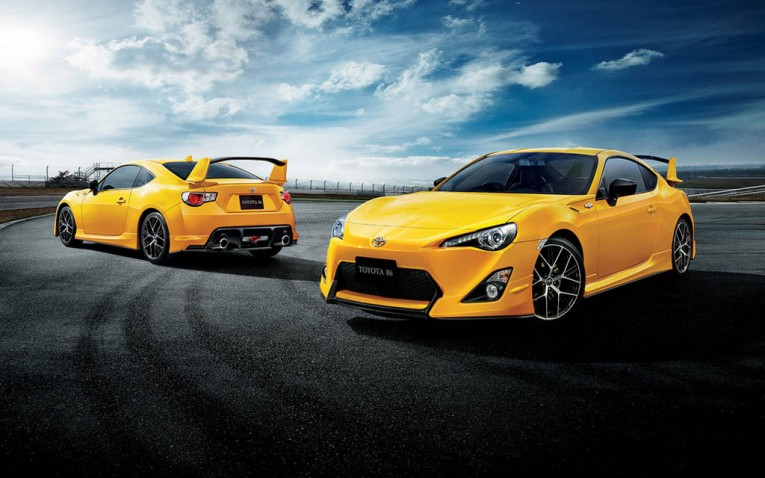 Toyota GT86 'Yellow Limited'
