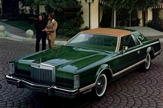 1977-1979 Lincoln Continental Mk. V Designer Editions