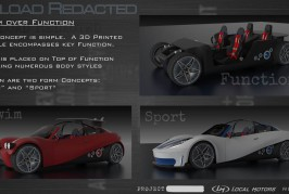 Local Motors 3D Printed Cars