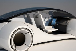 Apple iCar rendered
