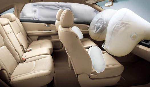 BYD S6 airbag