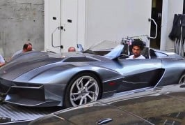 chris brown Rezvani Beast