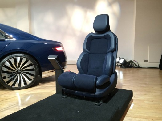 The Lincoln Continental's 30-Way Adjustable Seats