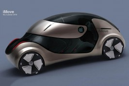 Apple iCar imagined