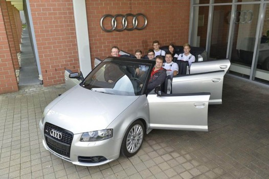 A3 Cabriolet with six doors and eight seats