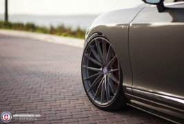 Bentley Continental GTC V8 S on HRE P103 wheels