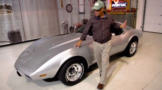 GM Restores And Returns Corvette Stolen 33 Years Ago