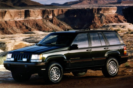 1995-1997 Jeep Grand Cherokee Orvis Edition