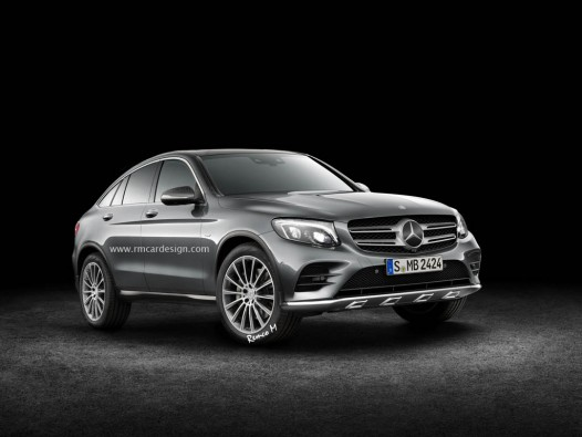 Mercedes-Benz GLC Coupe Rendering