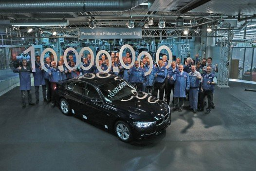 BMW 3 Series – ten millionth unit rolls off the line