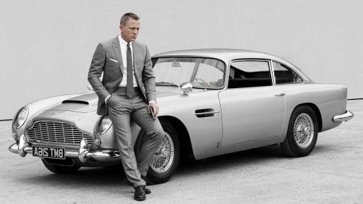 Aston Martin DB5 1964 and Daniel Craig