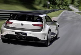 2015 VW Golf GTE Concept