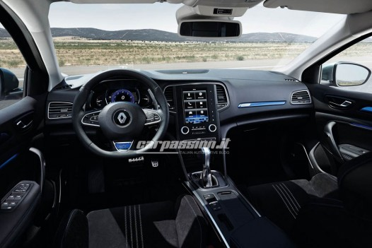 New Renault Megane dashboard