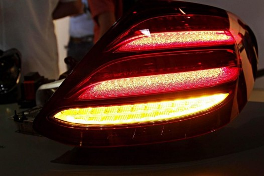Mercedes-Benz W213 taillight