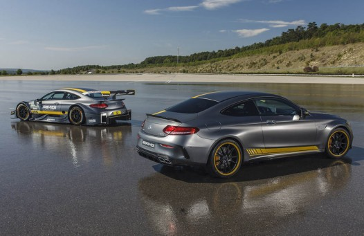 2017 Mercedes-AMG C63 Coupe Edition 1 And 2016 C63 DTM Racer