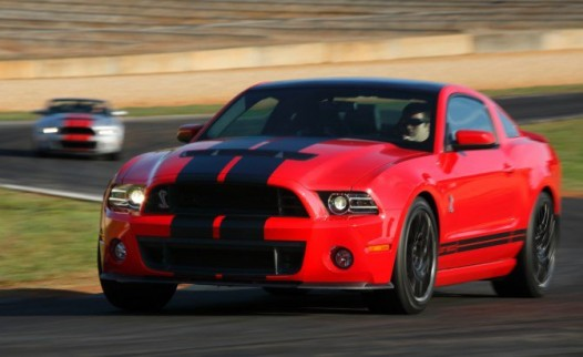 Ford Shelby Mustang GT500 2013