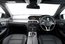 Mercedes C-Class Coupe 2015 interior